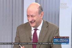 """Jacek Rostowski miał problemy z odmianą słowa """"Bydgoszcz"""""""