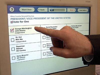 Elektroniczne głosowanie zyskuje na popularności.