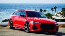 Pierwsze jazdy testowe nowym Audi RS6.