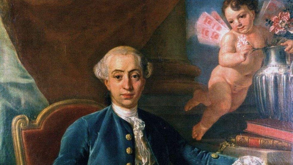 Portret Giacomo Casanovy, 1760 r.
