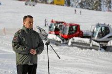 """Minister Mariusz Błaszczak rozpoczął w Białce Tatrzańskiej kampanię """"Zostań Żołnierzem Rzeczypospolitej""""."""
