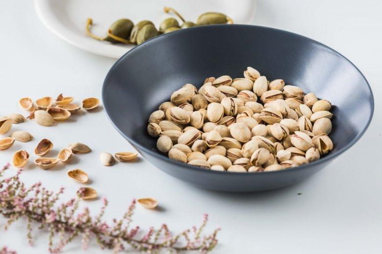 Solone pistacje z Biedronki, około 5 zł za 100 g