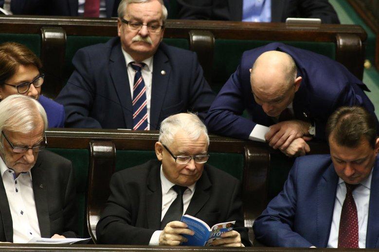 Najbliżsi współpracownicy prezesa PiS w Sejmie