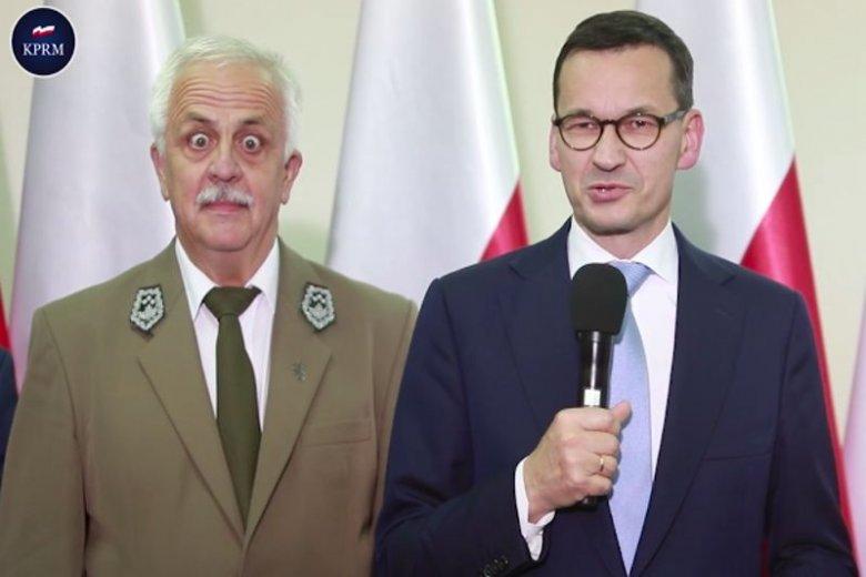 Mateusz Morawiecki na spotkaniu z pracownikami BPN powiedział, że chce zrobić porządek z wilkami...