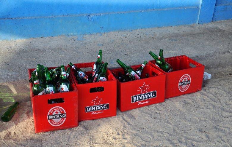 Bintang - najbardziej popularne piwo w Indonezji