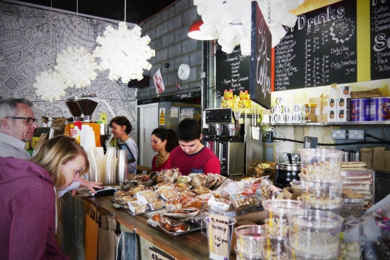 Goswell Road Coffee - dobry punkt w drodze do pracy