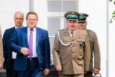 Takich błyskawicznych awansów jak generała Łapińskiego w Straży Granicznej nie pamiętają.