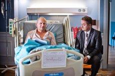 Mariusz odwiedził prezesa w szpitalu.