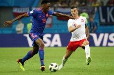 """Robert Lewandowski przekonuje w wywiadzie dla """"Przeglądu Sportowego"""", że wcale nie zrzucał  na kolegów z drużyny odpowiedzialności za przegraną z Kolumbią."""