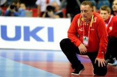 Michael Biegler , podczas meczu Polska - Chorwacja.