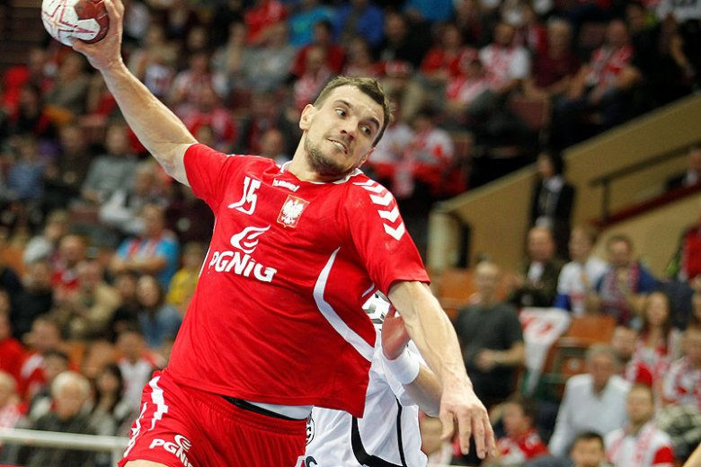 w meczu Polska-Hiszpania.