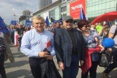 Prezydent Białegostoku Tadeusz Truskolaski jako jedyny zapanował nad grupami ONR-u.