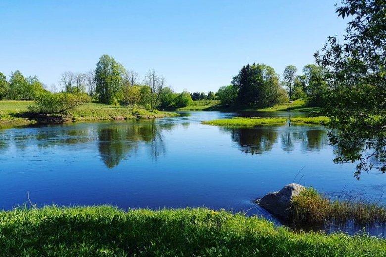 Estońskie SPA położone jest nad rzeką Navesti