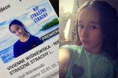 """Córka Michała Wiśniewskiego i Ani Świątczak nagrała piosenkę """"Nie straszne strachy""""."""