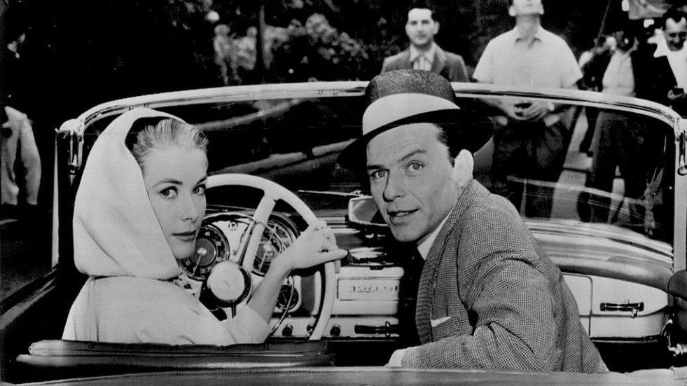 Grace Kelly i Frank Sinatra