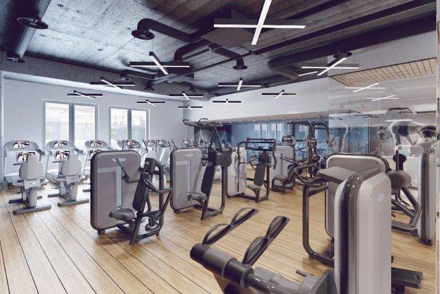 Obok tego klubu fitness LPP wybudowało pracownikom centrum relaksacyjne wellness