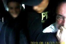 Kiedy chłopak trzymał nóż przy szyi kierowcy, dziewczyna zabierała pieniądze.