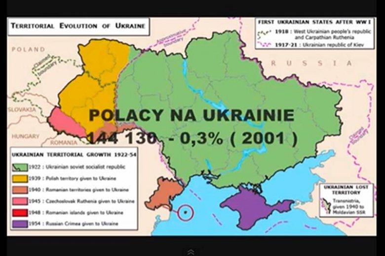 Od 0,3 do 15 proc. – tak liczbę Polaków na Kresach widziałby Max Kolonko