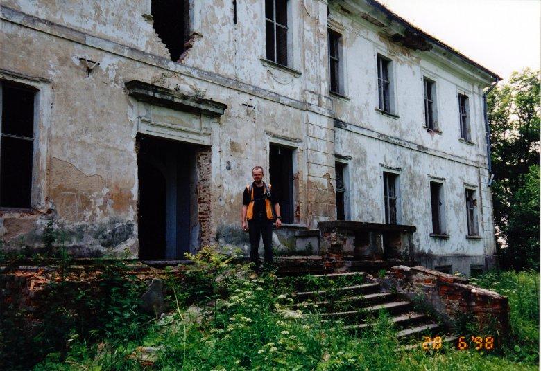 Pałac przed remontem