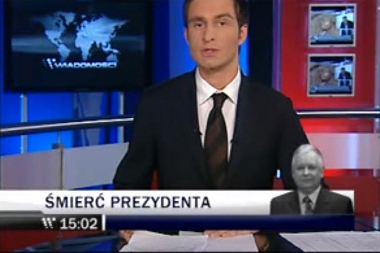 """Szefowa """"Wiadomości"""" TVP twierdziła, że nie wie, co wydarzyło się pod Smoleńskiem. Jednym tweetem obnażono jej cyniczną grę."""