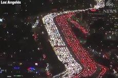 To nie hołd dla Polski, ale korek uliczny w Los Angeles