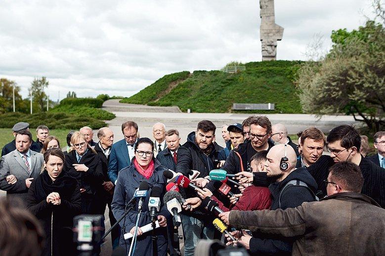 Aleksandra Dulkiewicz nie zamierza odpuścić w sprawie Muzeum Westerplatte.