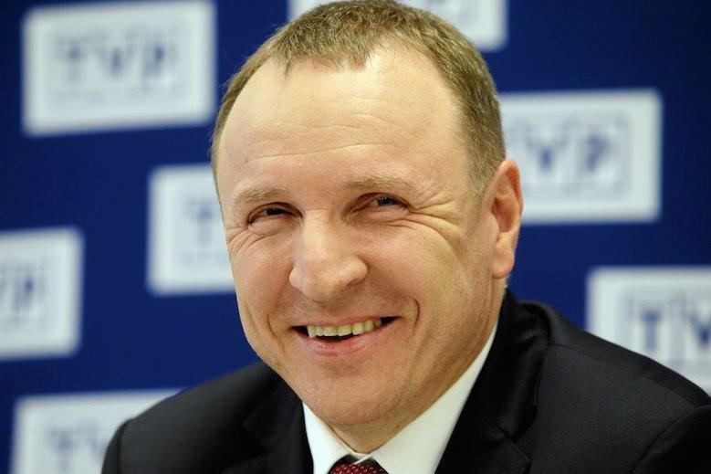 Jacek Kurski pochwalił się wynikami z meczu Polska – Izrael. I wspomniał o... miłości Polaków do TVP.