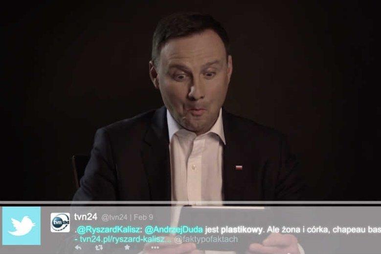 Andrzej Duda pisze w nocy na Twitterze
