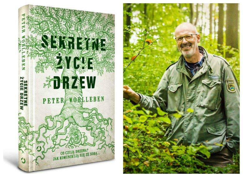 Polskie wydanie książki, która do sprzedaży trafi 5 września. Po prawej autor.