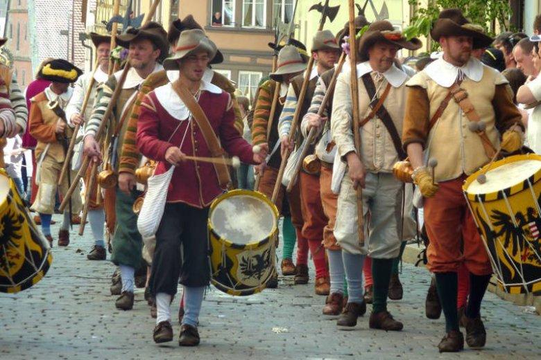 """Rothenburg ob der Tauber, święto """"Der Meistertrunk"""""""