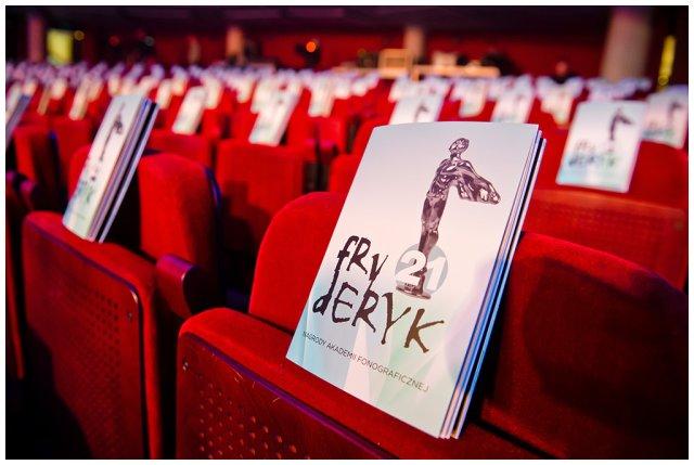 Program 21. Gali Fryderyk 2015 w Teatrze Polskim w Warszawie.