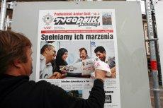 """Redakcja """"Tygodnika Podhalańskiego"""" stała się bohaterem """"Wiadomości"""" TVP, ponieważ protestowała w sprawie Sylwestra pod Wielką Krokwią."""