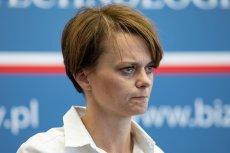 Jadwiga Emilewicz jest ministrem przedsiębiorczości i technologii.