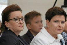 Beata Szydło i Anna Zalewska na uroczystej inauguracji roku szkolnego na Podkarpaciu.