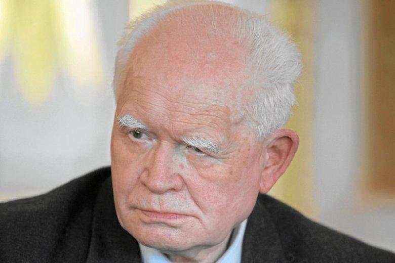 Profesor Adam Strzembosz, były prezes SN nie jest optymistą w sprawie ewentualnego weta prezydenta do ustaw o sądach