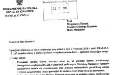 Minister finansów nie zostawia suchej nitki na projekcie 500 złotych na dziecko
