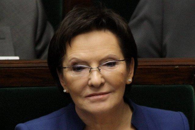 Ewa Kopacz przedstawia Sejmowi swoje expose