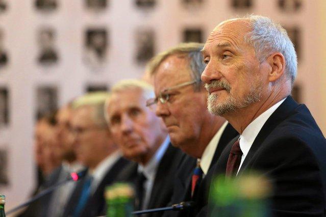 Na konferencję WAT zaproszono podczas konferencji podkomisji Macierewicza (10.04.2017).