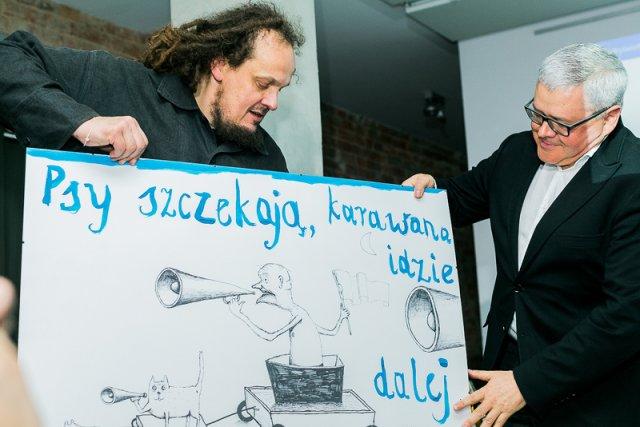 Mariusz Wilczyński rozpoczął akcję pomocy Malta Festival Poznań. Spontanicznie poparli ją polscy, a także europejscy twórcy. Lista artystów jest dłuższa niż piosenkarzy, którzy nie wystąpią w Opolu.