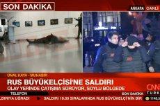 Zamach na rosyjskiego ambasadora w Turcji. Andriej Karłow jest ciężko ranny.