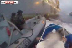Hiszpańska marynarka zaatakowała pontony Greenpeace'u