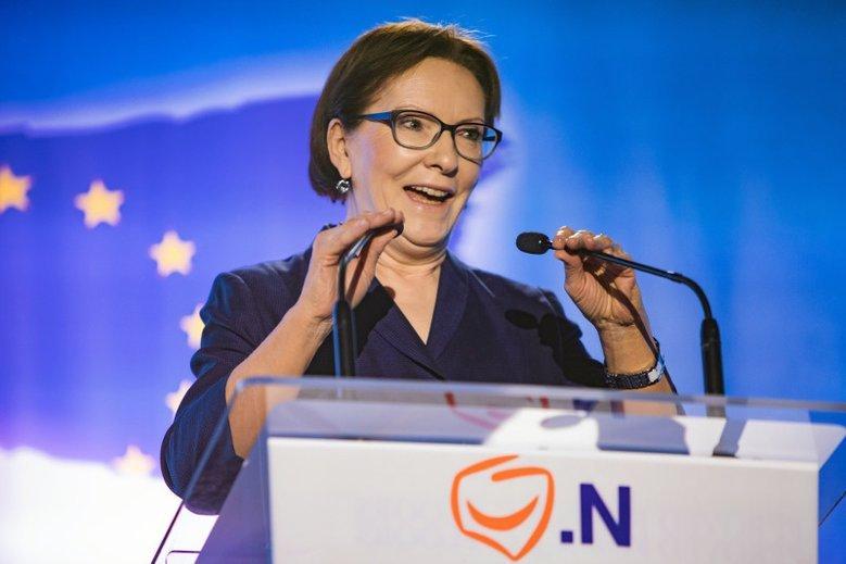 Ewa Kopacz ma szansę na dwie ważne funkcje w Parlamencie Europejskim.