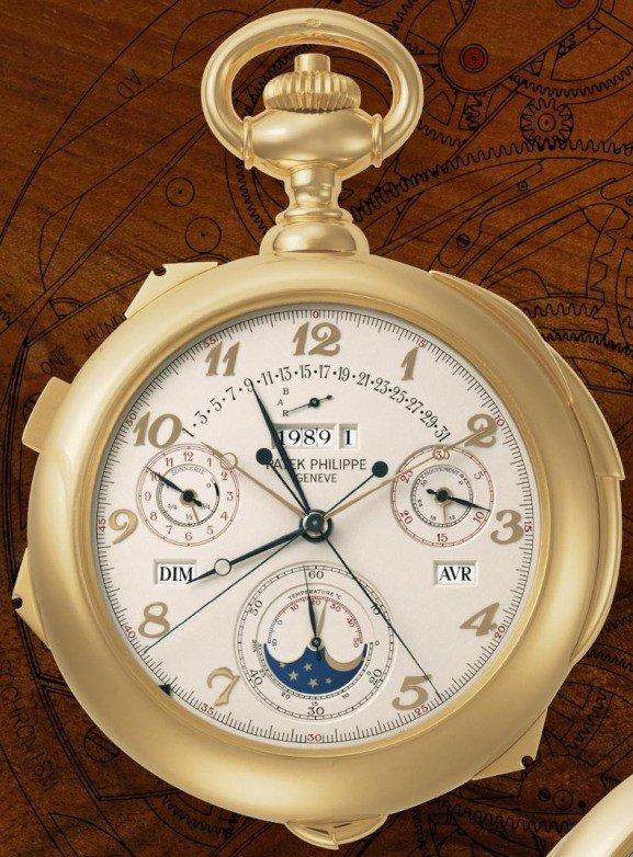 Patek Philippe Calibre 89 - najbardziej skomplikowany zegarek świata.