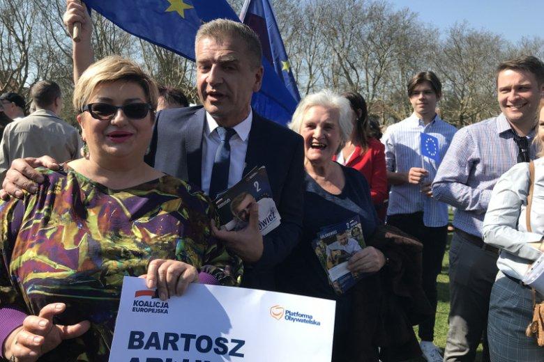 Zdaniem Jadwigi Maltańskiej praca w sztabie wyborczym była ogromnym wyzwaniem, ale  i wielką przygodą.
