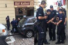 Policjanci obezwładnili nożownika w centrum Warszawy.