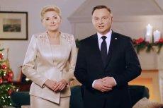 Para prezydencka złożyła rodakom życzenia świąteczne.