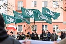 Manifestacja ONR, zdjęcie poglądowe.
