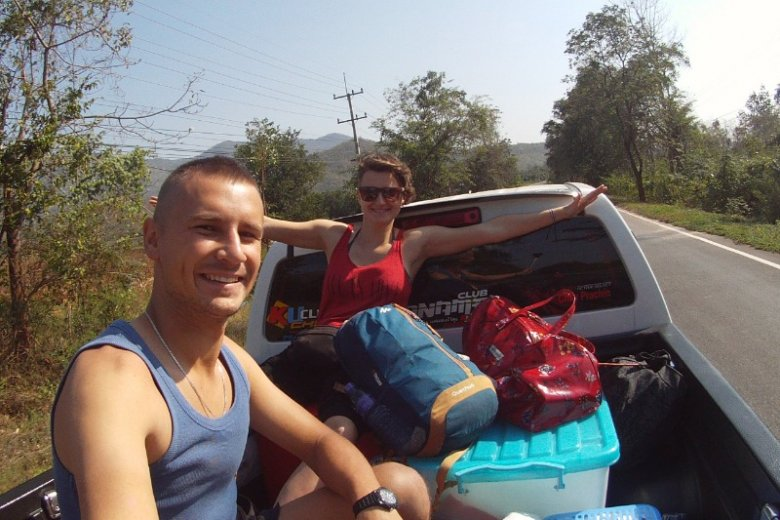 Monika i Marcin zwiedzili kilkadziesiąt krajów podróżując autostopem