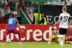 Legia Warszawa odpadła z Ligi Mistrzów.