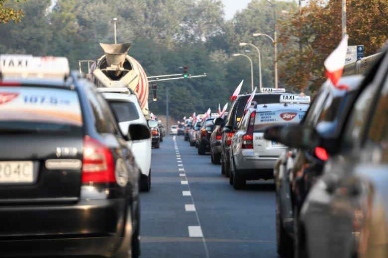 Po dzisiejszym poranku, taksówkarze z pewnością nie zyskali sobie zwolenników.